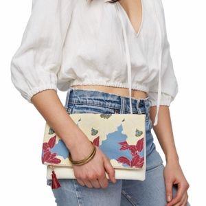 Rachel Pally Foldover Clutch Bag in Bloom